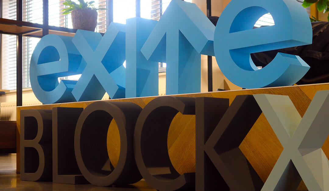 Exite en BlockX samen verder als één organisatie