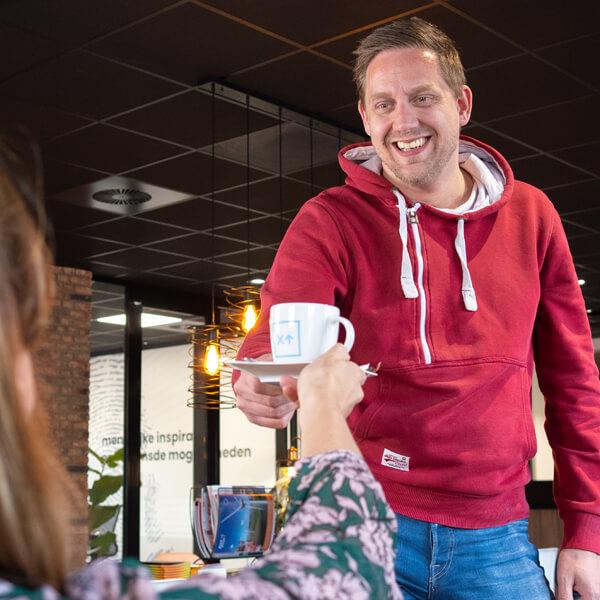 Tim Vriesen op de koffie bij Exite