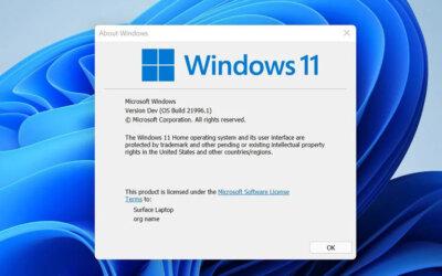 Windows 11 binnenkort als gratis upgrade beschikbaar
